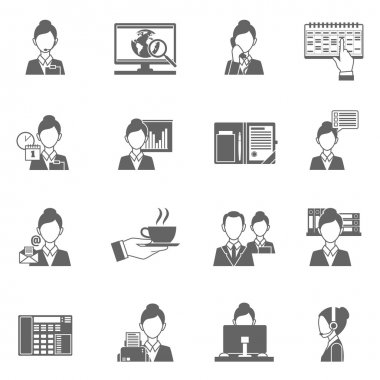 Personal Assistant Icons