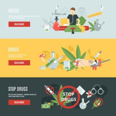 Drugs Banner Set