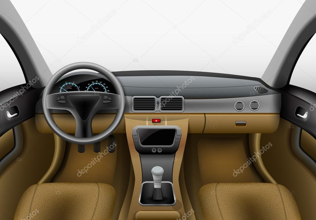 Auto interieurverlichting — Stockvector © macrovector #74009301