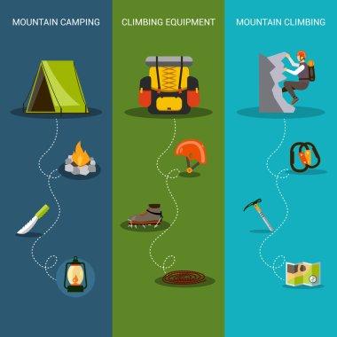 Climbing Banner Vertical
