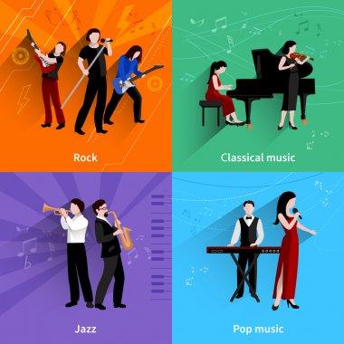 Musicians Flat Set