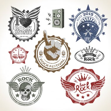 Rock Festival Stamps