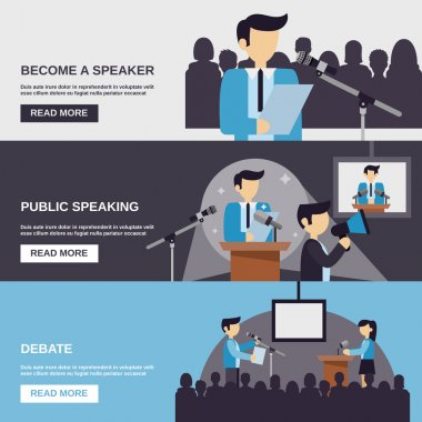 Public Speaking Banner