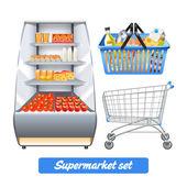 Fényképek Szupermarket reális készlet