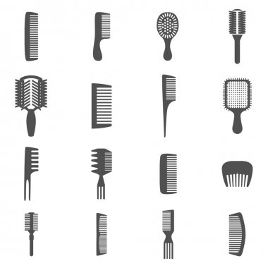 Comb Icons Set