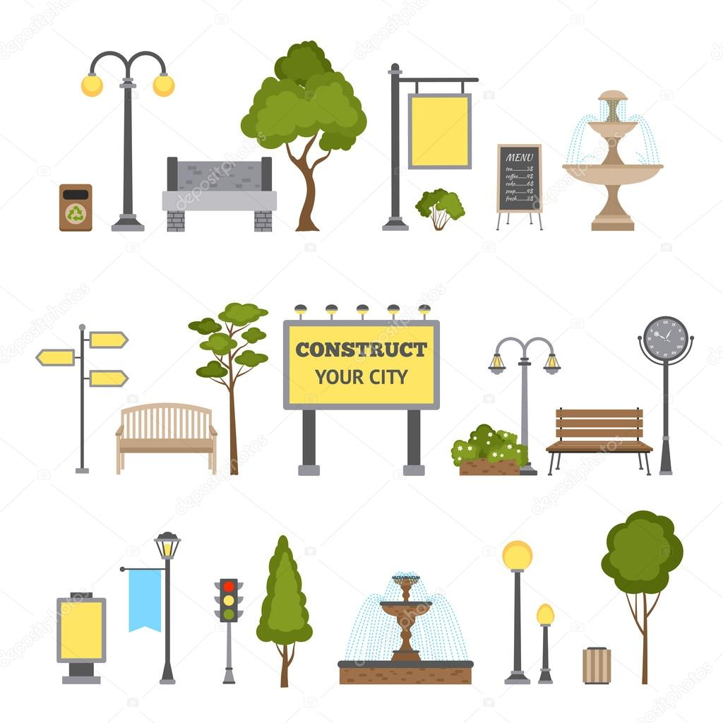 Outdoor Object Set