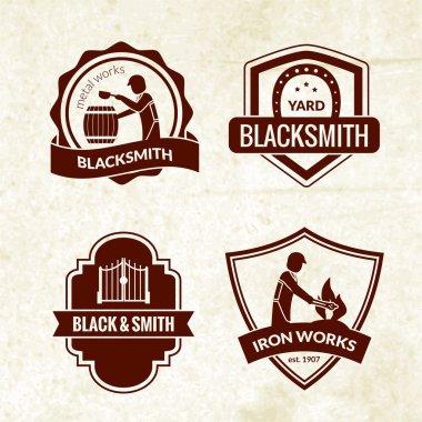 Blacksmith Emblems Set