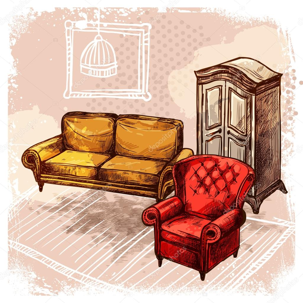 Nico muebles de dibujos componente muebles para ideas for Stock de muebles