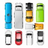 Autók felülnézet