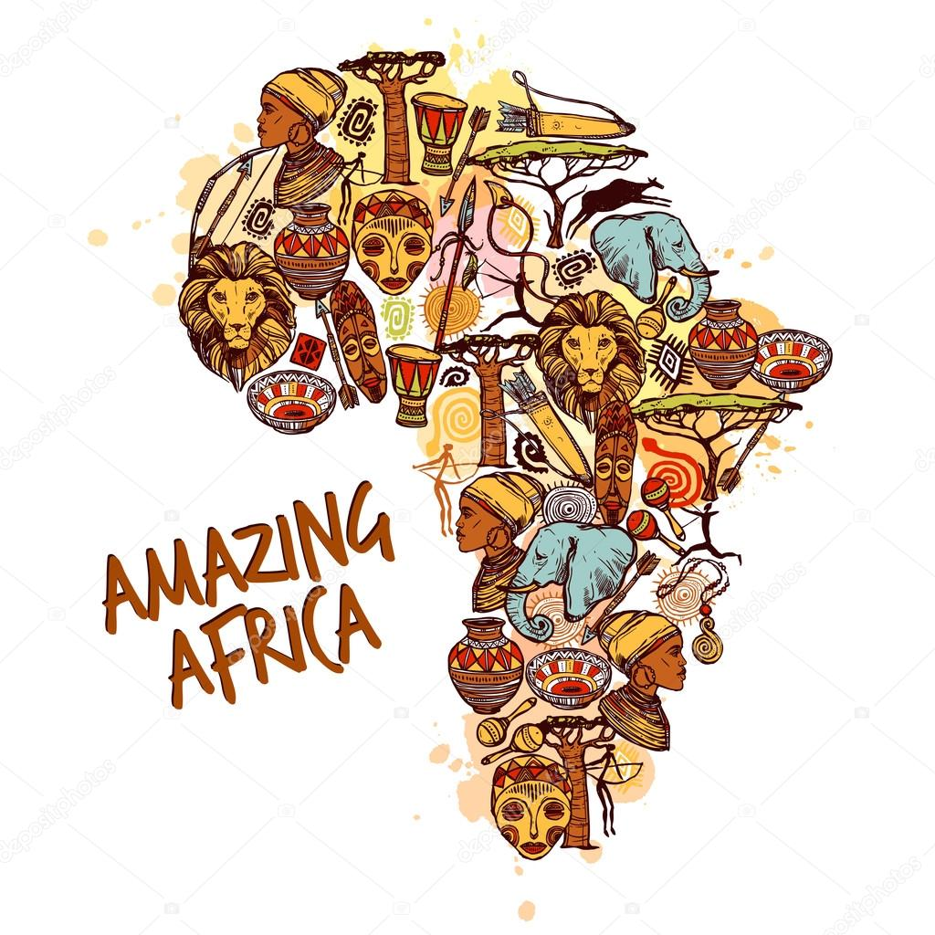 Africa Sketch Concept