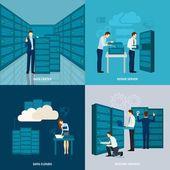 Fényképek Data Center-Set