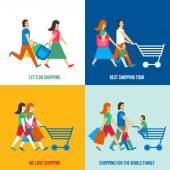 Shopping People Design Concept