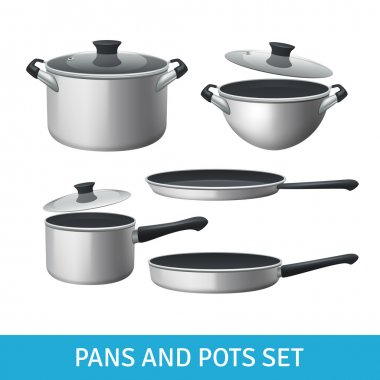 Pans And Pots Set