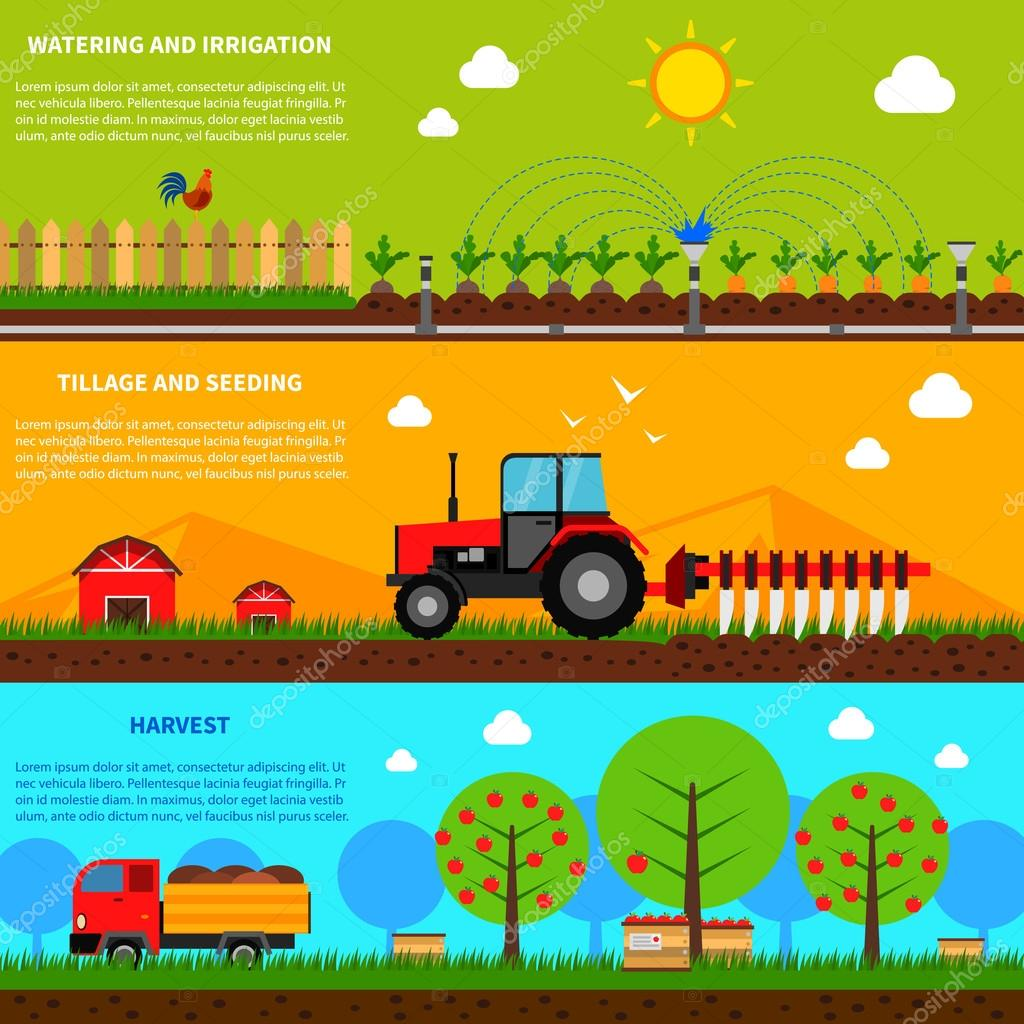 Farming Banner Set
