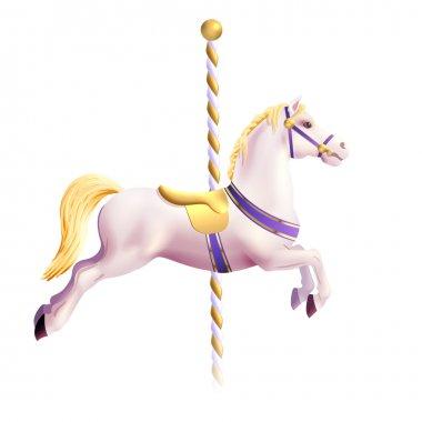 Carousel Horse Realistic