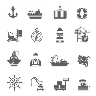 Sea Port Icons