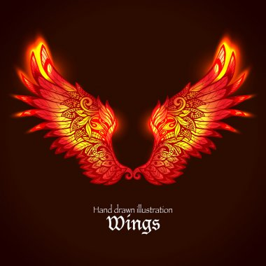 Wings And Flame