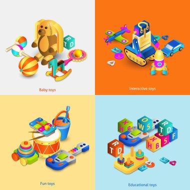 Toys Isometric Set
