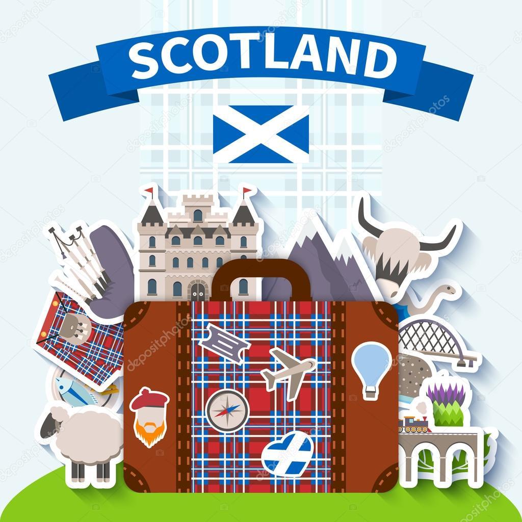 Scotland Travel Background