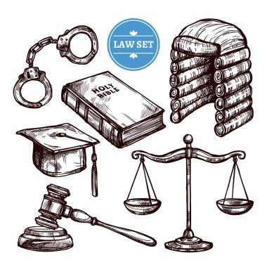 Hand Drawn Law Set