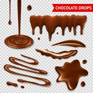 Chocolate transparent set