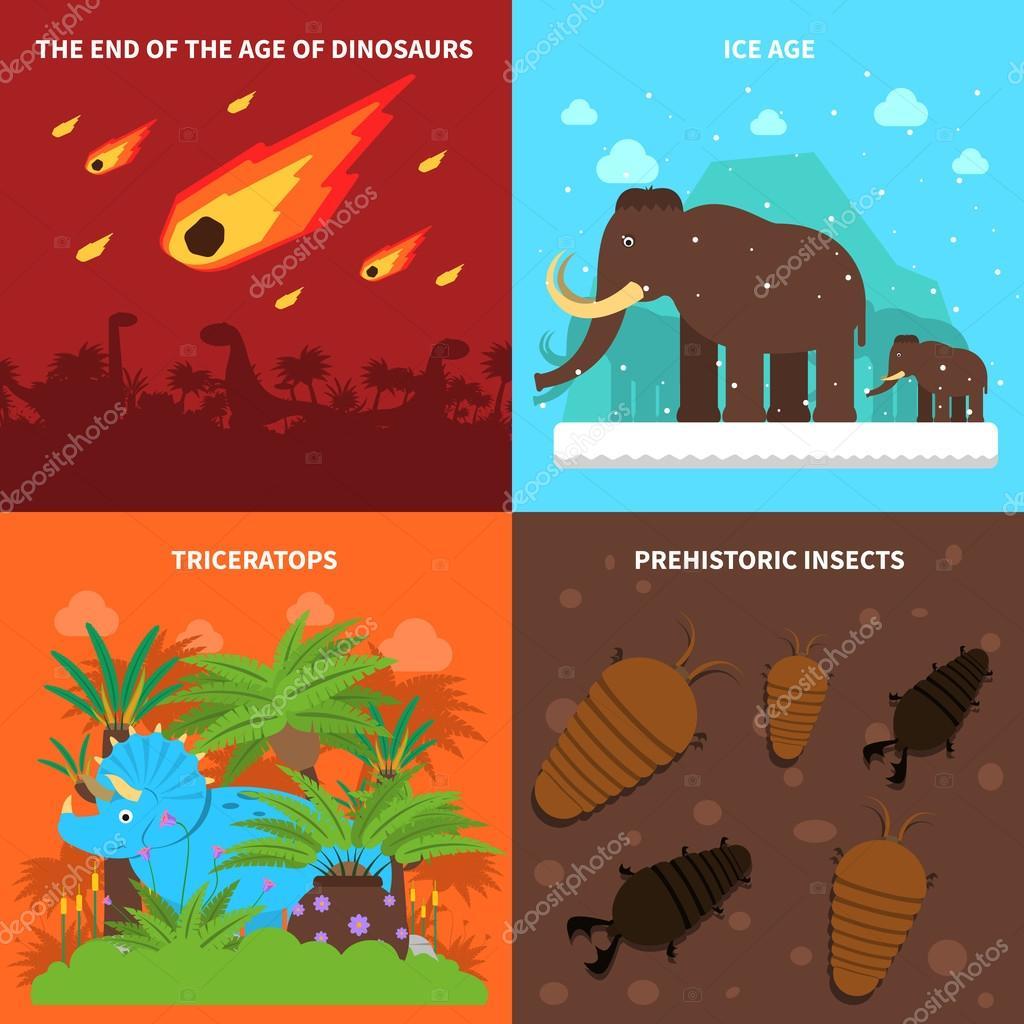 Dinosaurs Concept Set