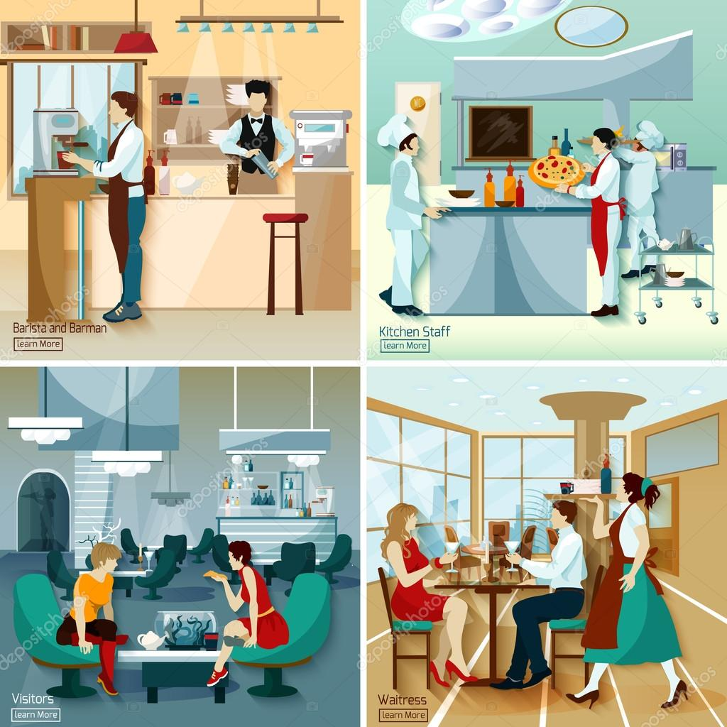 Restaurant People 2x2 Design Concept