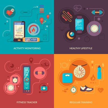 Fitness Tracker 2x2 Design Concept