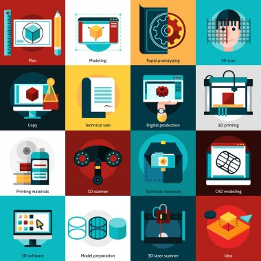 Prototyping And Modeling Icons
