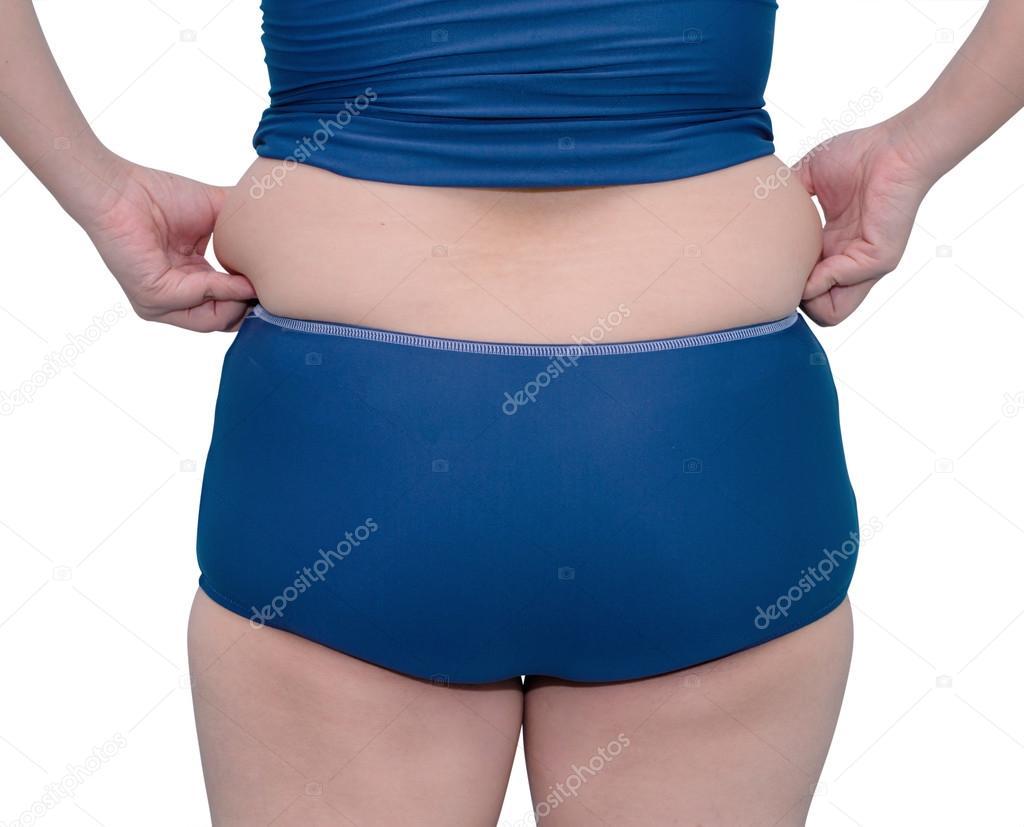 Costumi Da Bagno Bianchi 2014 : Donna grassa in costume da bagno u foto stock parinyabinsuk