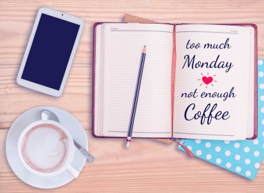 Quote on notebook
