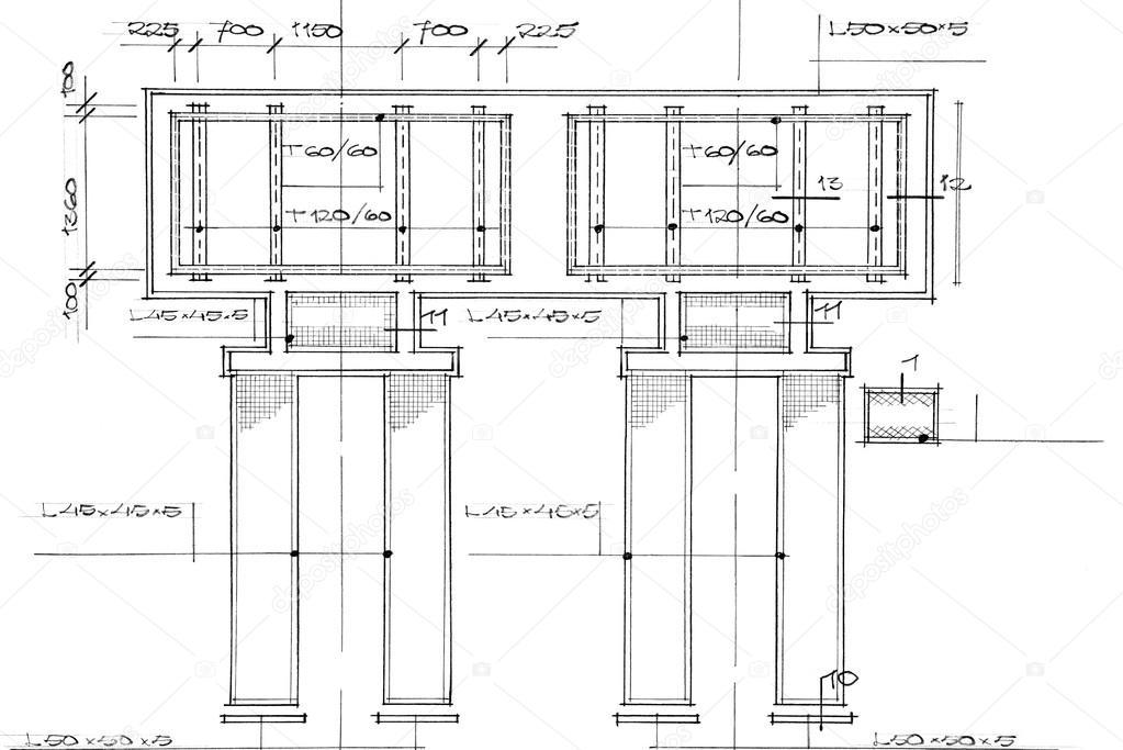 Blueprint fondo arquitectnico foto de stock a40757 104713796 blueprint fondo arquitectnico foto malvernweather Image collections