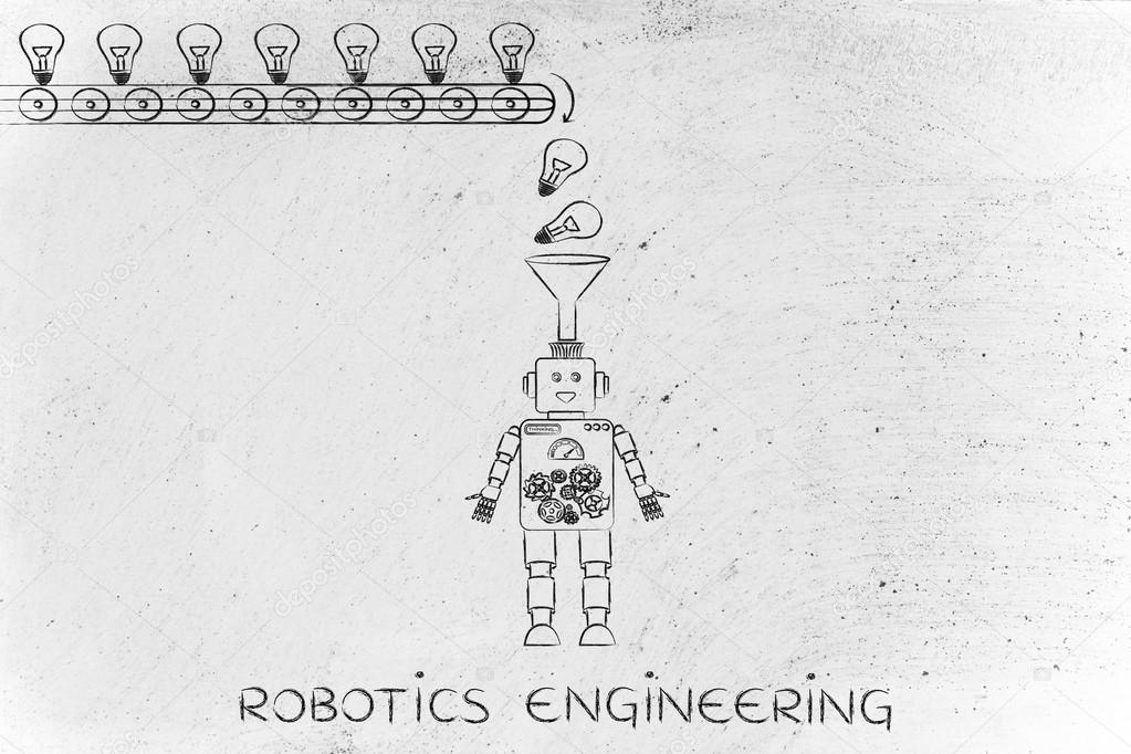 Concept Of Robotics Engineering Stock Photo C Faithie 106623898