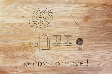 concept of ready to move