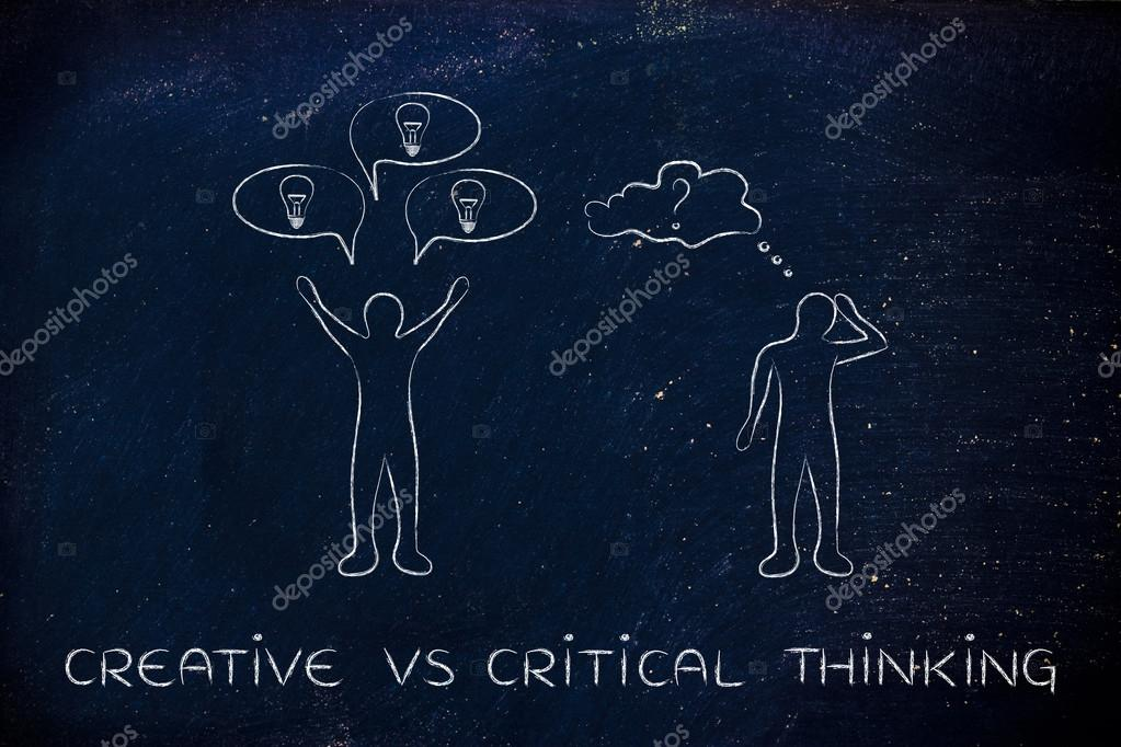 concept of creative and critical thinking