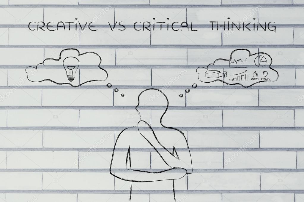 analytical vs critical thinking Analytical thinking does this exactly analytical thinking vs critical thinking when you think critically, you have many ifs and buts because even though you have gone into detail, you haven't divided the problem into parts and seen into each part individually.
