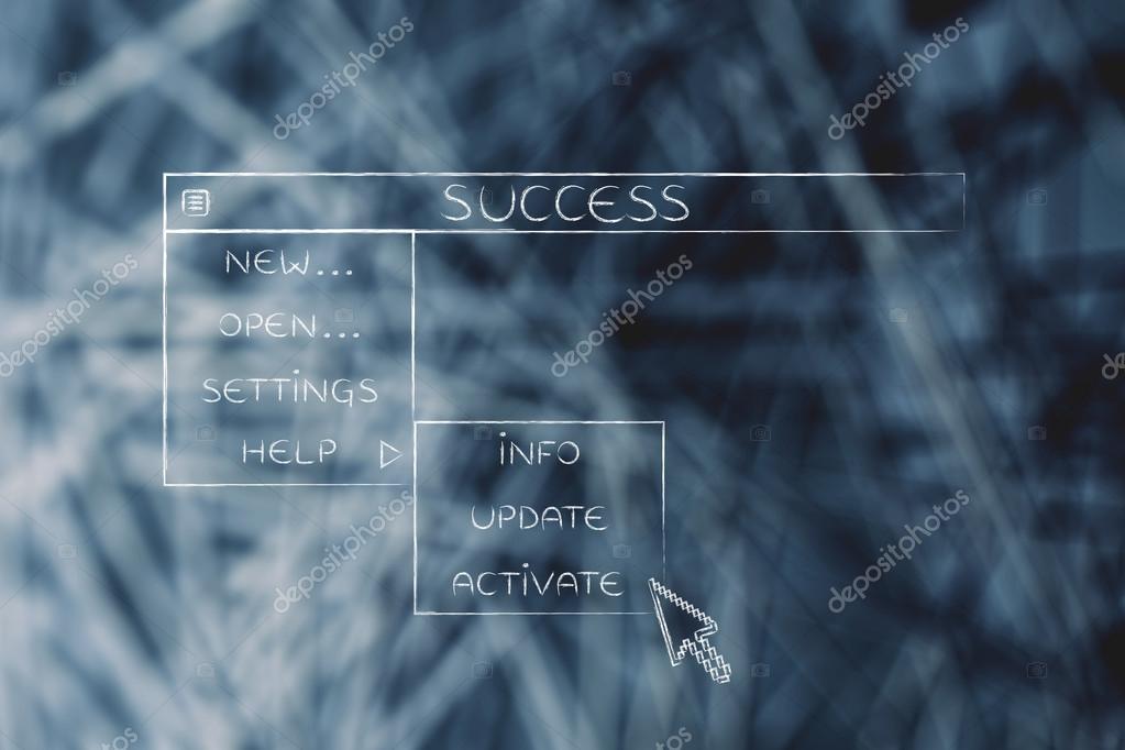 cfe13b0fc6 Επιτυχία μενού σε στυλ αναπτυσσόμενη λίστα