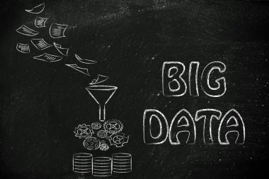 Concept of big data processing and storage