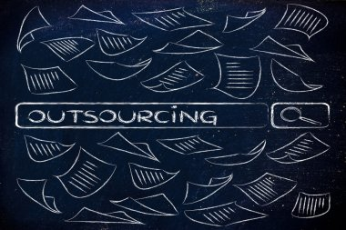 Researching about outsourcing practices