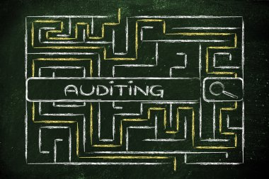 maze with a search tag about auditing