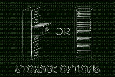 concept of Storage options