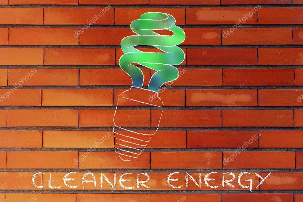 Cleaner energy illustration