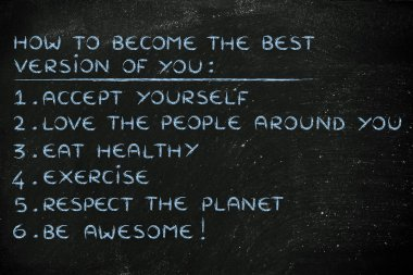 motivational list of resolution for happiness