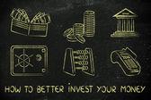 Jak udělat lepší investice koncept