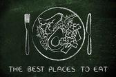 koncepce z nejlepších míst k jídlu