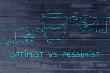 concept of optimist vs pessimist