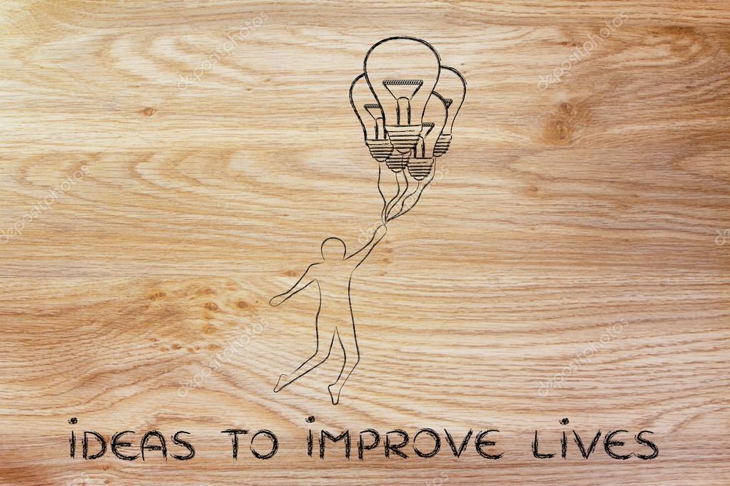 Concetto Di Idee Per Migliorare La Vita Foto Stock C Faithie 91394298