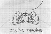 concept of online trading