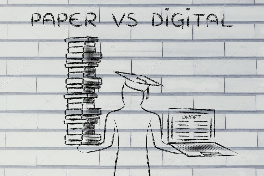 paper vs digital Digital paper combines the simplicity of reading and writing on real paper with the convenience of digital features, including easy sharing across devices, searchable documents, and secure document encryption.