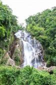 Mae Tia vodopád, Ob plic národní park v Thajsku Chiangmai